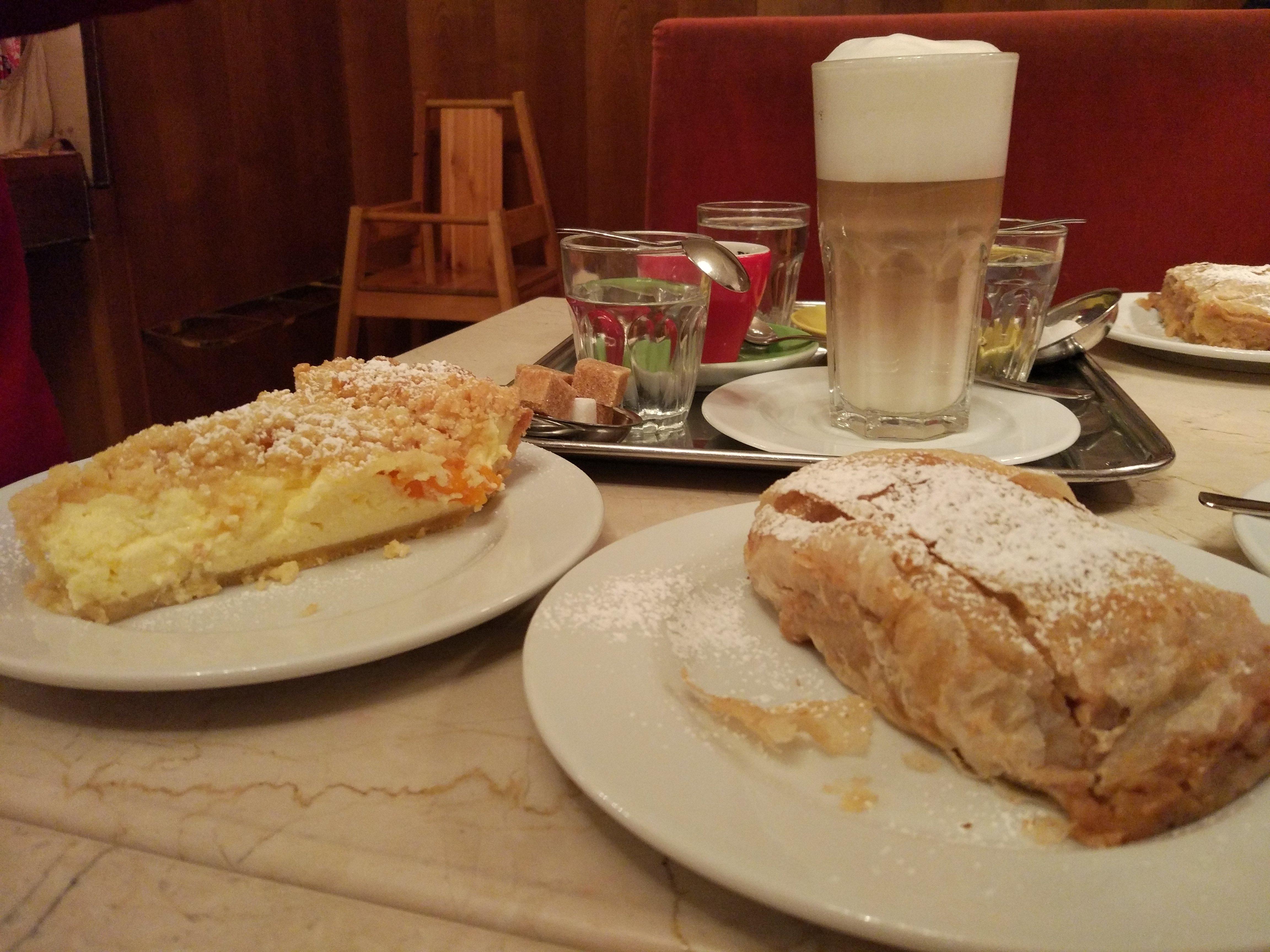 Strudel del cafè Diglas Fleischmarkt