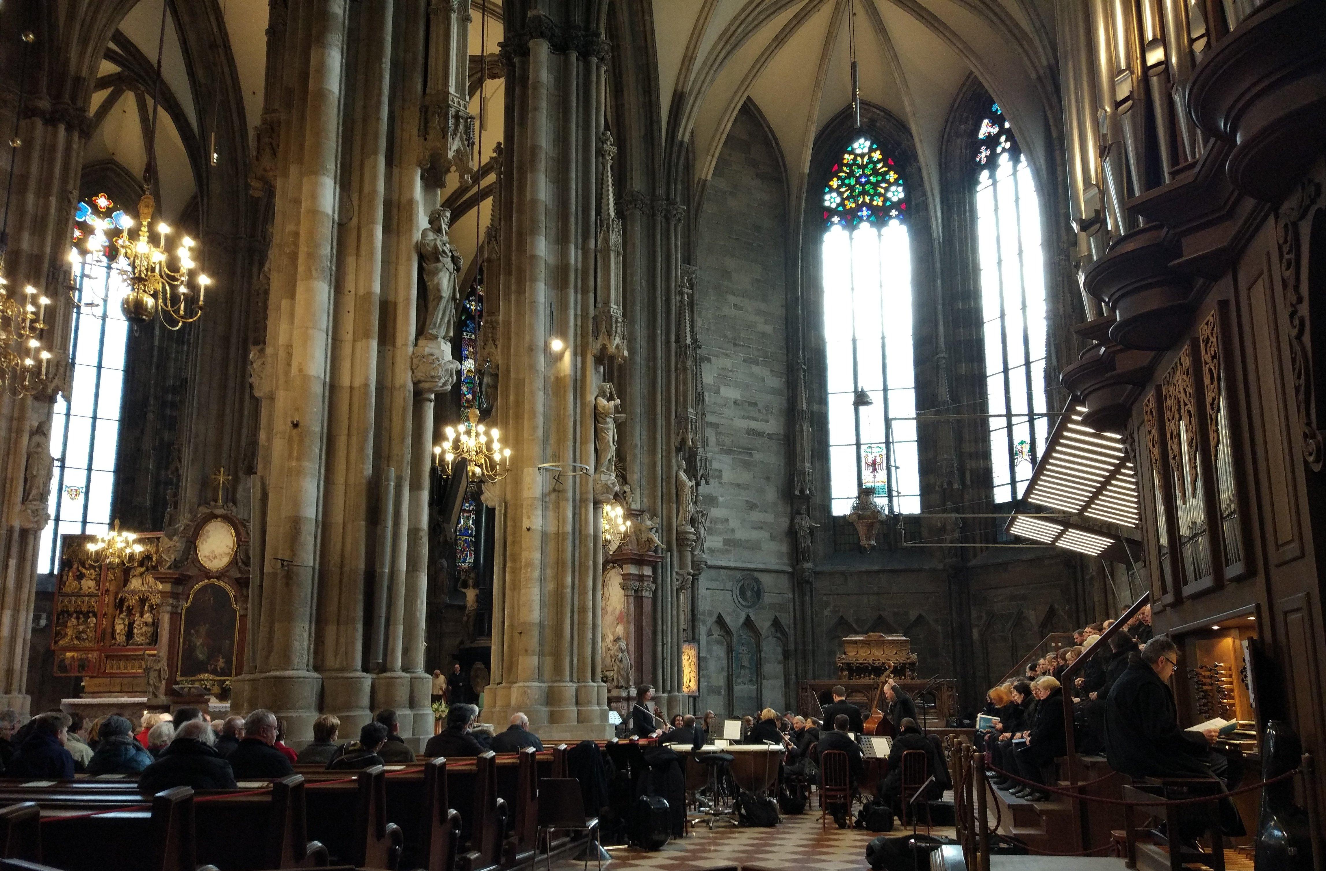 Concerto, Chiesa di Santo Stefano, Vienna
