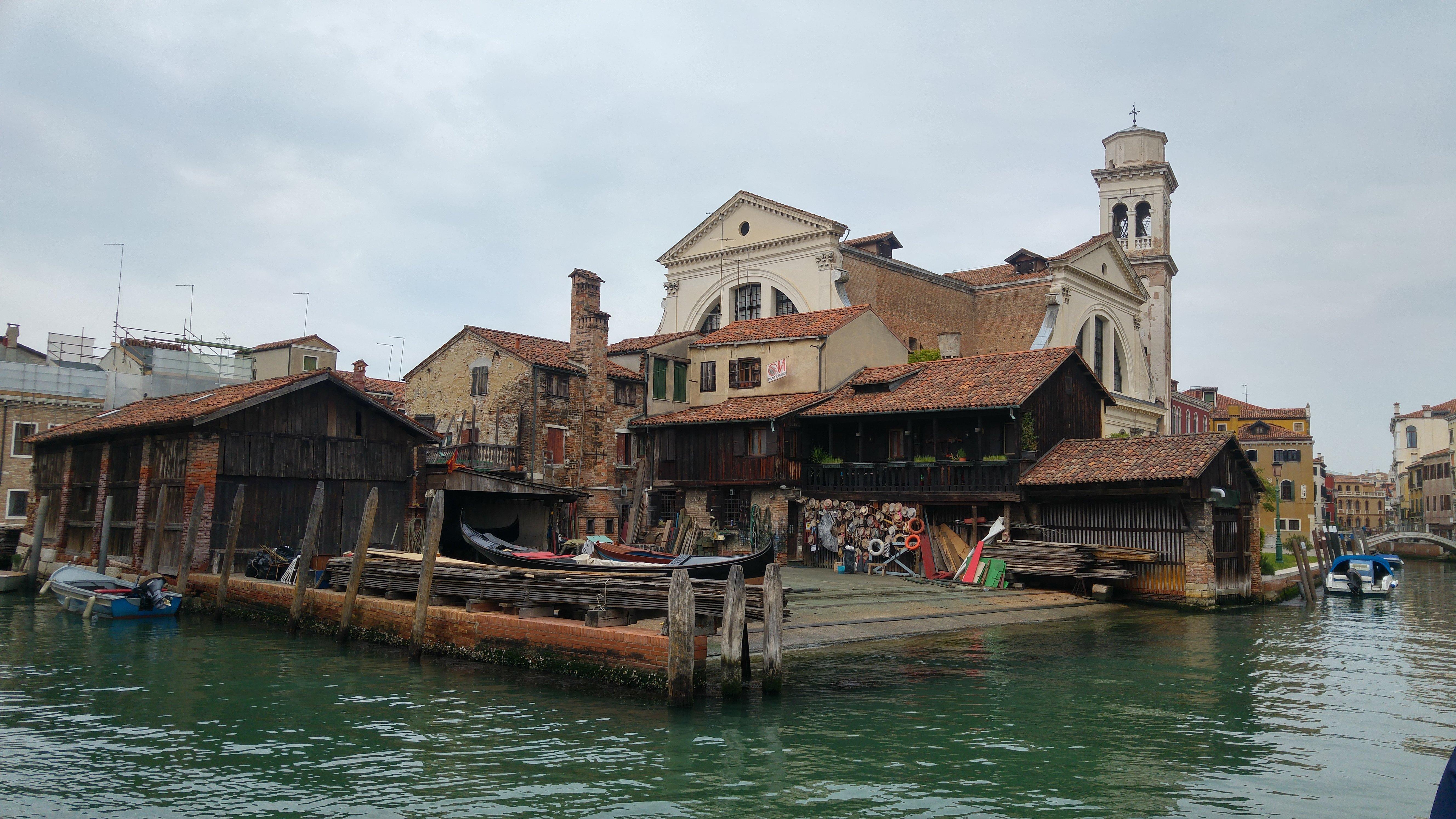 Squero di San Trovaso, dove venivano prodotte le gondole a Venezia