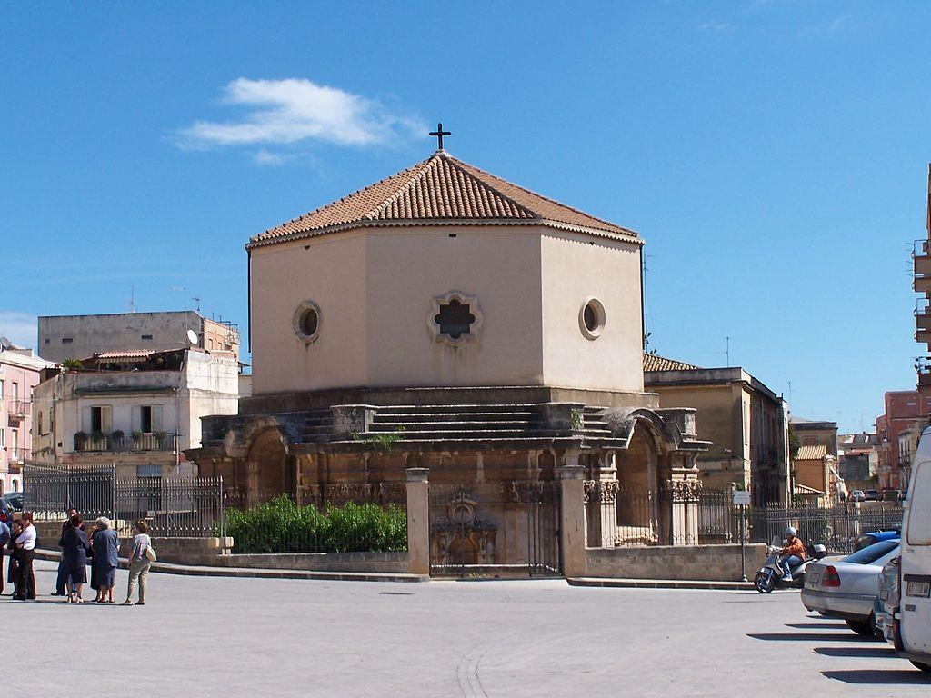 chiesa Santa Lucia Sepolc Siracusa mercato