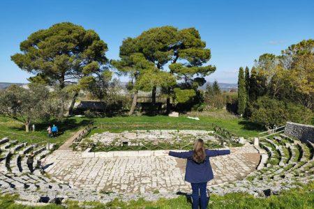 Palazzolo Acreide teatro greco akrai sicilia