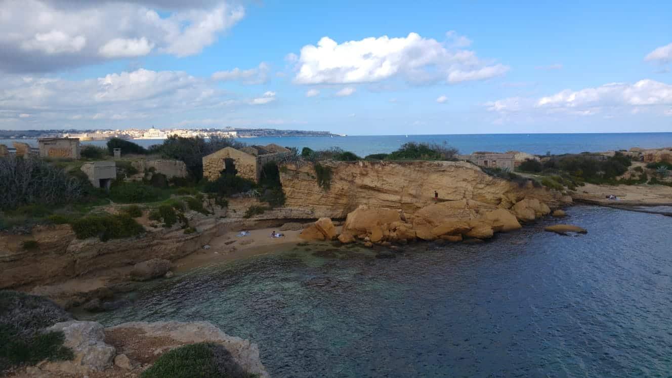 plemmirio punta della mola, siracusa, sicilia, mare