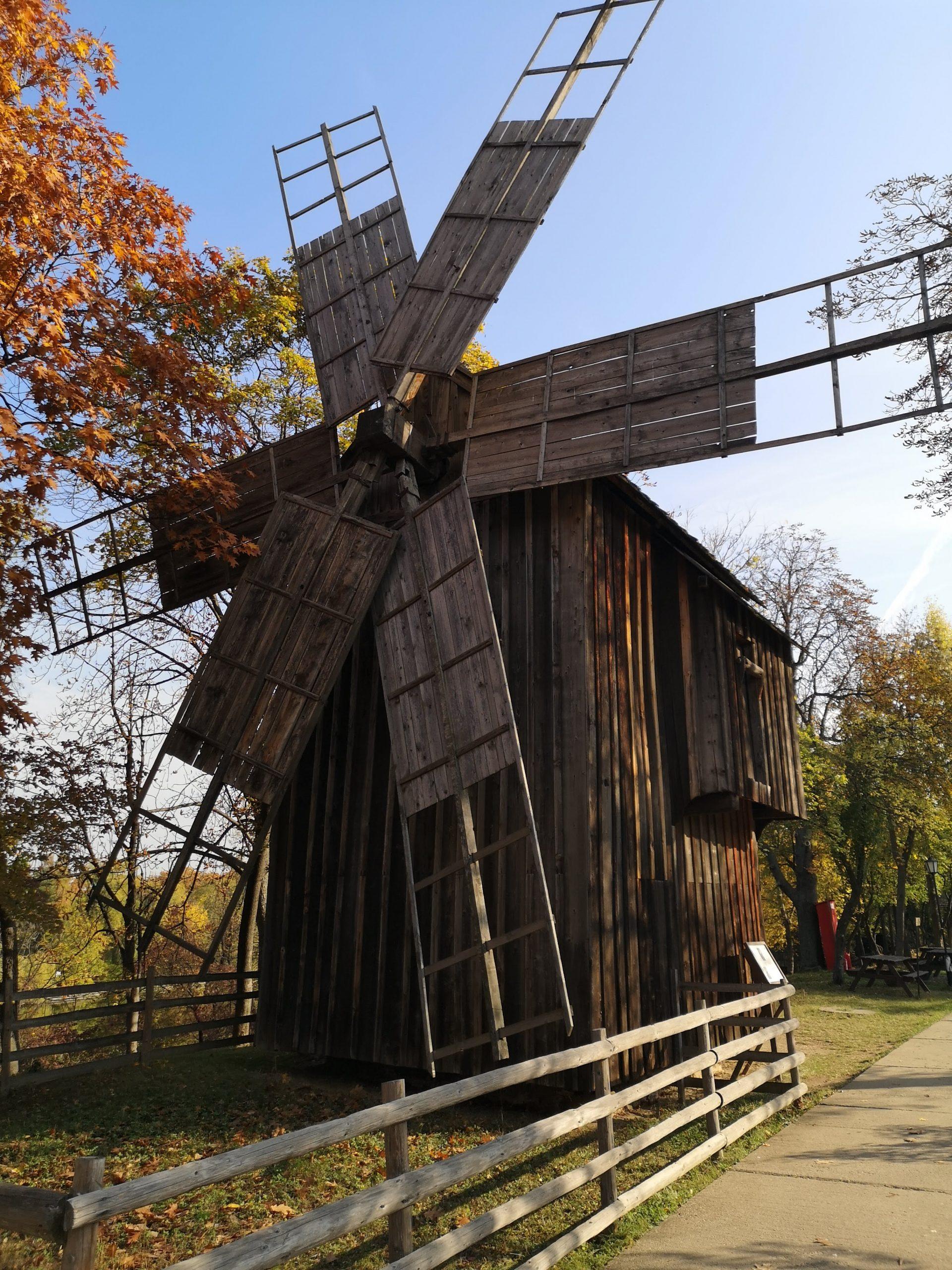 Mulino_Museo del villaggio di Dimitrie Gusti_Bucarest