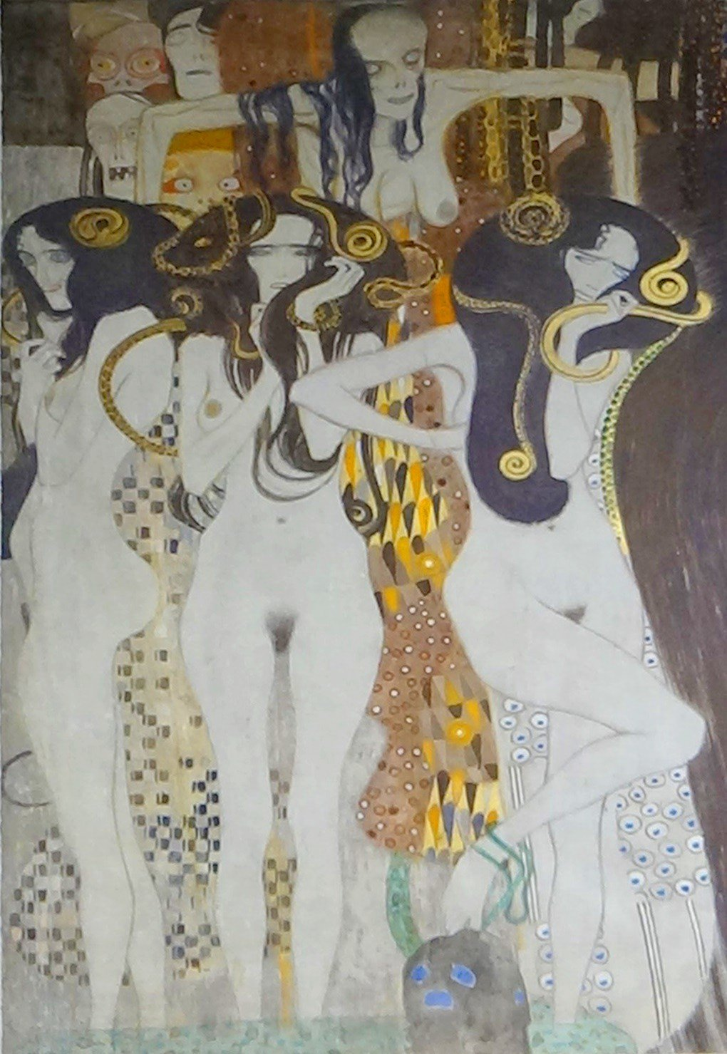 Gustav Klimt, Beethoven Frieze, 1902 _ John W. Schulze _ Flickr