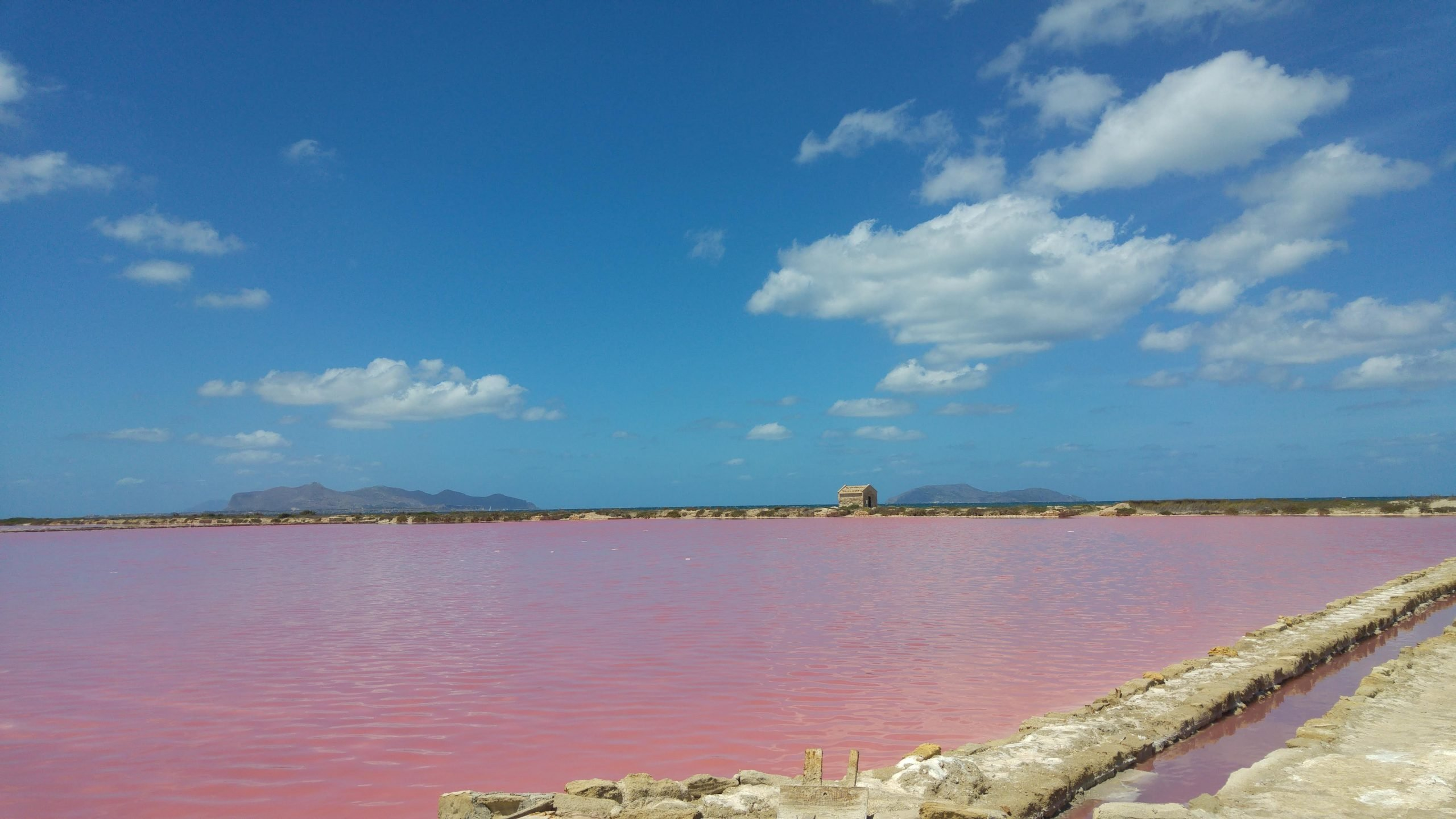 In Sicilia le saline rosa più belle d'Italia
