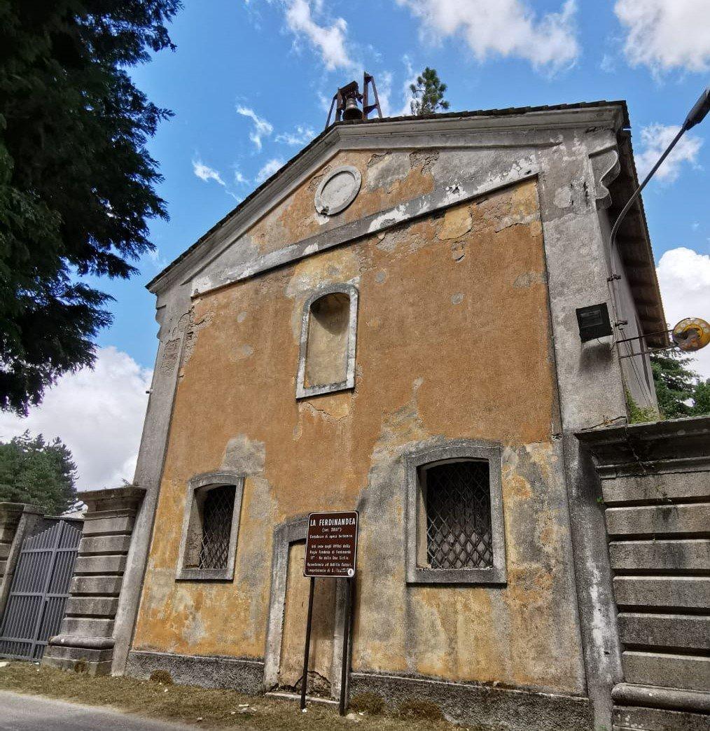 Chiesa presso il complesso di Ferdinandea in Calabria