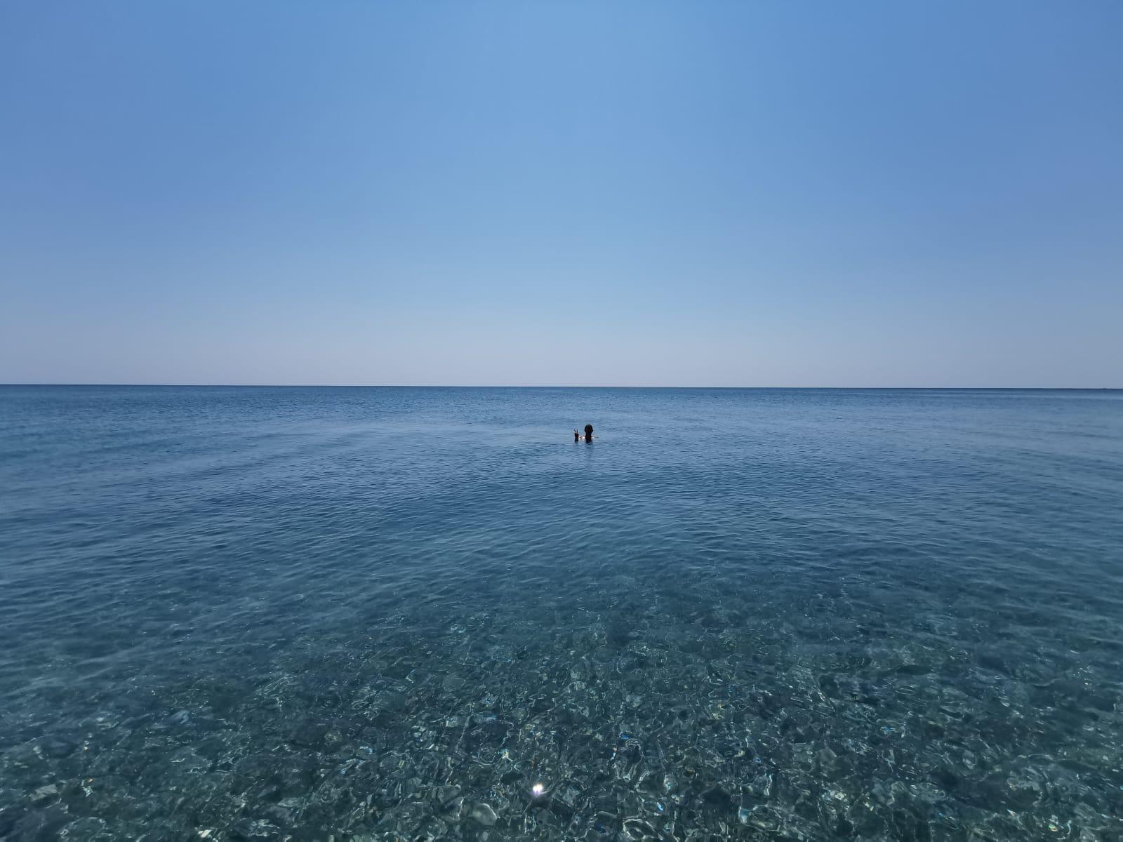 Mare deserto in Calabria ad agosto