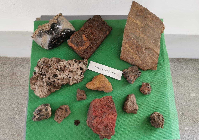 minerali estratti nelle zone di Stilo in Calabria