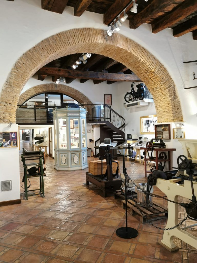 Interno del Museo della liquirizia calabrese